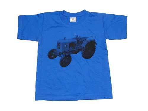 Kinder T-Shirt royalblau