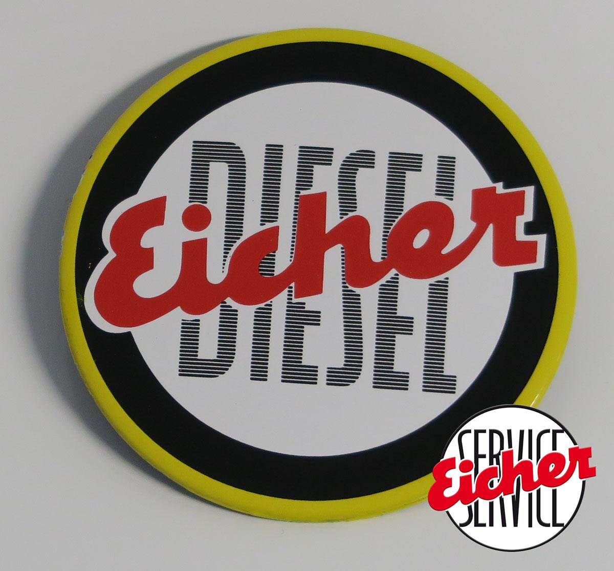 """Eicher/"""" Eicher Blanco Typenschild /""""Gebr"""