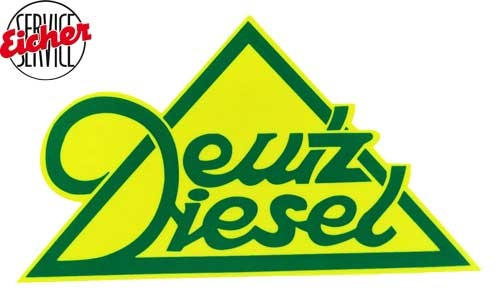 Aufkleber Deutz Diesel