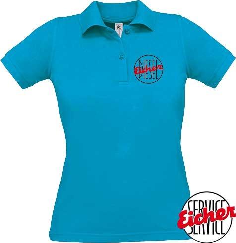 """Damen-Poloshirt """"Eicher Diesel"""""""