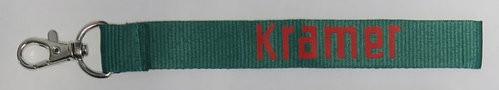Schlüsselband Kramer grün