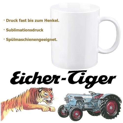 """Eicher-Tasse/Kaffeehaferl """"Tiger"""""""