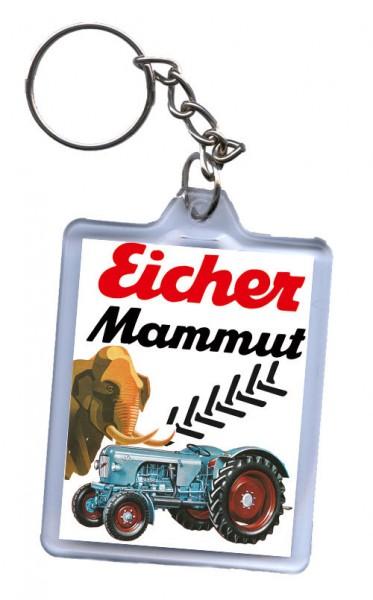 Schlüssel-Anhänger, Motiv Eicher Mammut
