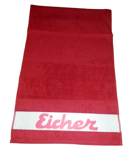 Eicher Handtuch in rot