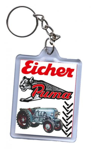 Schlüssel-Anhänger, Motiv Eicher Puma