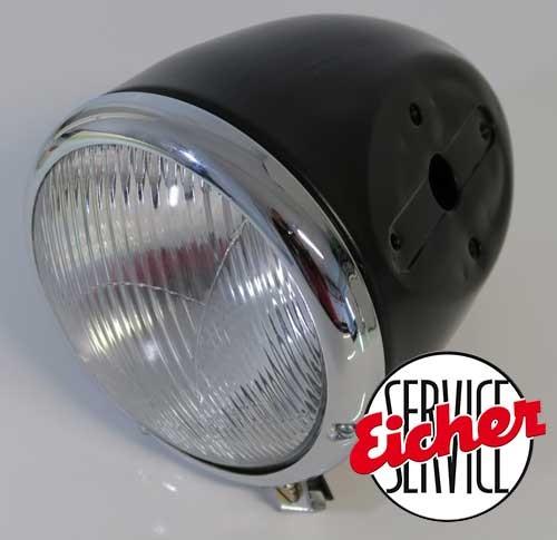 Lampe Anbau an Motorhaube