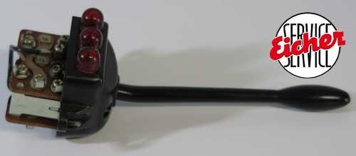 2-Kreis Blinkerschalter zu Lenksäulenverkleidung Güldner G-Serie