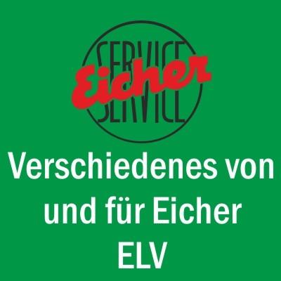 Rasspe-Teile für Eicher-Mähwerke EM 100, EM 295, ES 201, EM 200, EM 300