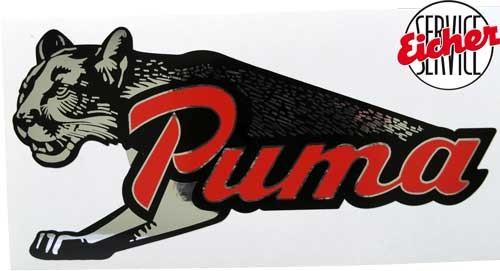 Aufkleber Puma