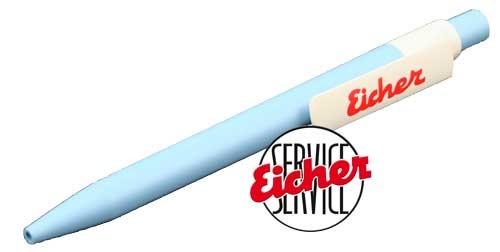 Kugelschreiber hellblau - Vorteilspack