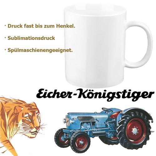 """Eicher-Tasse/Kaffeehaferl """"Königstiger"""""""