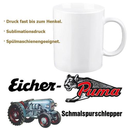 """Eicher-Tasse/Kaffeehaferl """"Puma"""""""