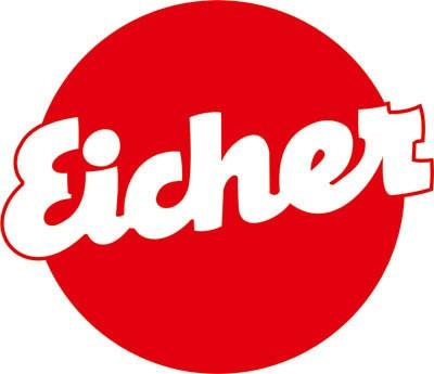 Aufkleber Eicher-Logo rund Ø30cm
