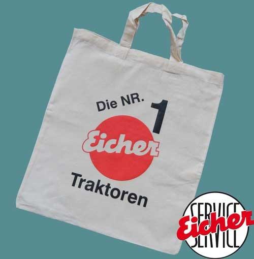 Stofftasche mit Eicher-Logo