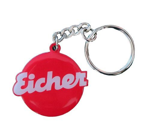 Schlüsselanhänger Edelstahl - Motiv Eicher