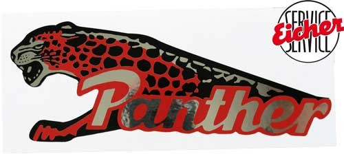 Aufkleber Panther