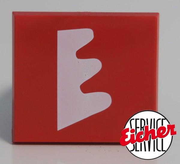 Eicher-Schild für Kühlergrill