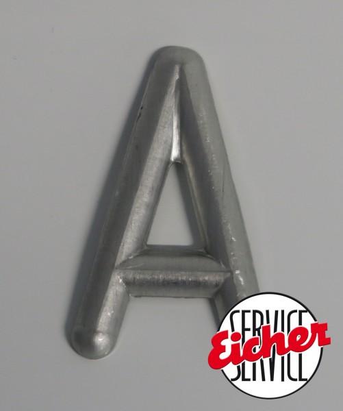Alu Buchstabe ´A´ 4,3 x 2,5 cm