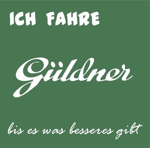 Aufkleber Güldner