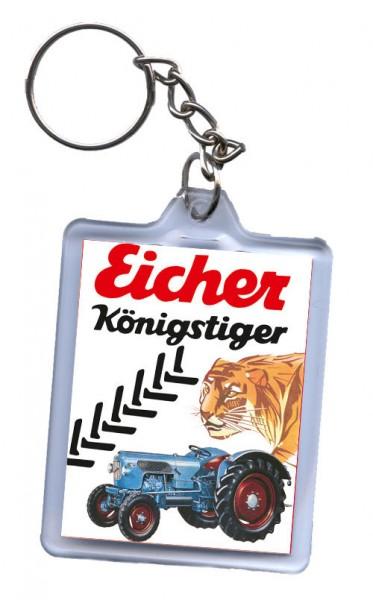 Schlüssel-Anhänger, Motiv Eicher Königstiger