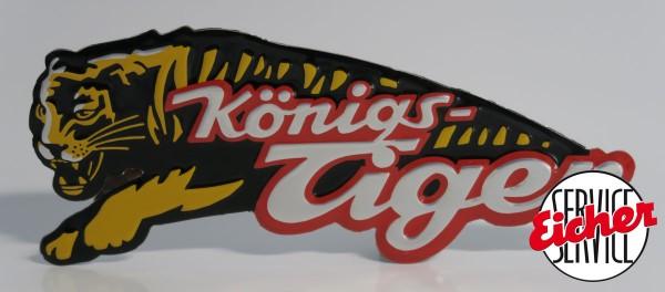 Raubtier Königstiger - Emblem orginal - Nachbau