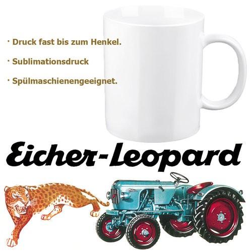 """Eicher-Tasse/Kaffeehaferl """"Leopard"""""""