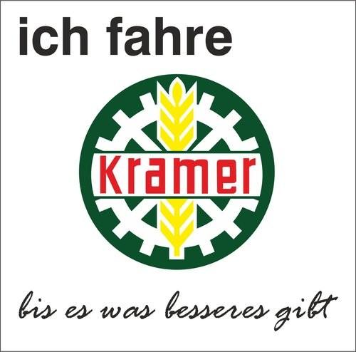 Aufkleber Kramer