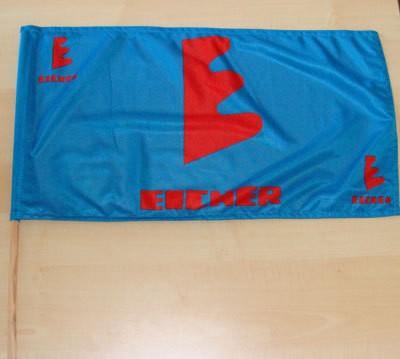 Hand/Stockfahne Eicher blau