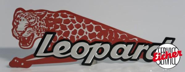 Raubtier Leopard-Emblem
