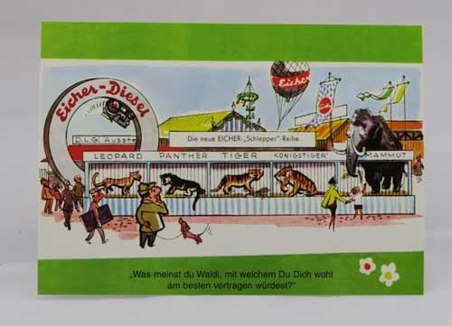 Farb-Postkarte