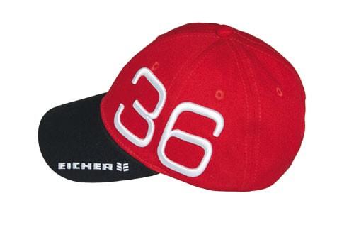 Kinder Baumwoll-Cap, Logo gestickt