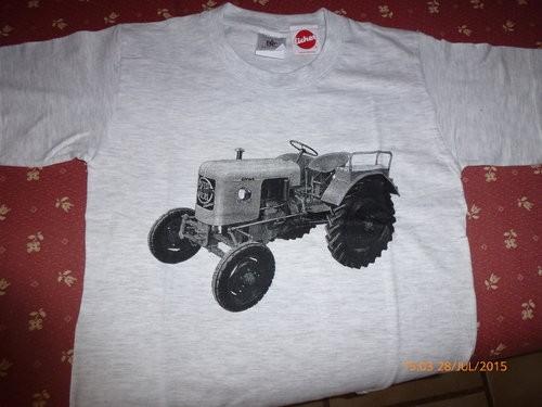 Kinder T-Shirt in esch/grau
