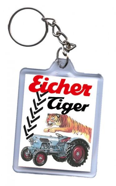 Schlüssel-Anhänger, Motiv Eicher Tiger