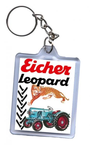 Schlüssel-Anhänger, Motiv Eicher Leopard