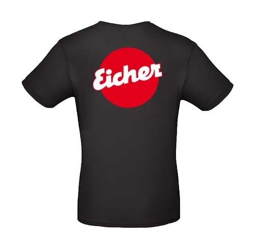 Eicher T-Shirt in schwarz