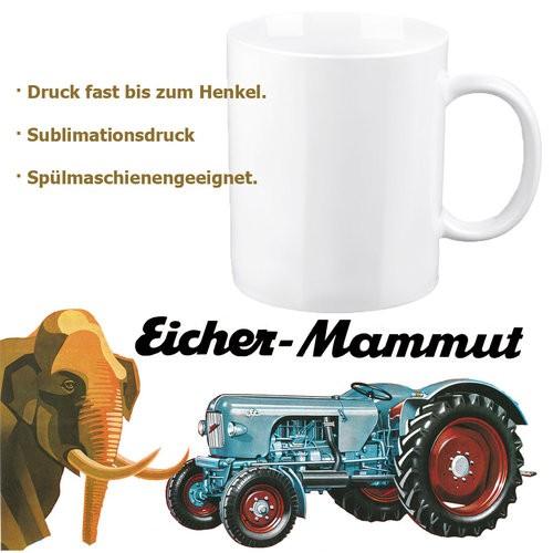 """Eicher-Tasse/Kaffeehaferl """"Mammut"""""""